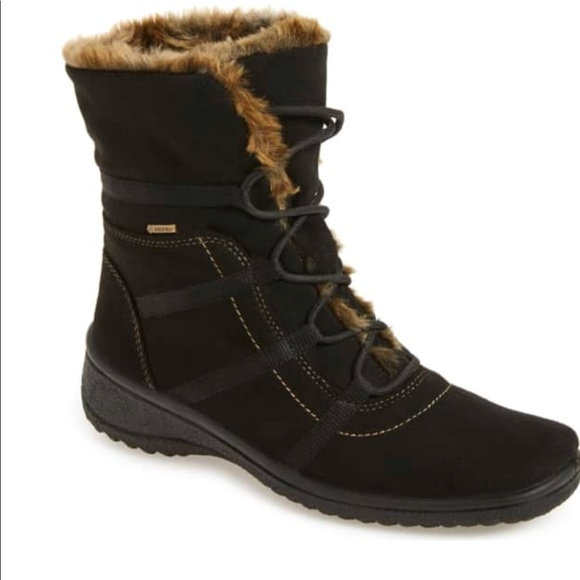 Magaly Waterproof Gore Tex Faux Fur Boot Ara